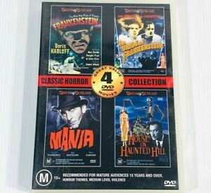 Classic Horror Collection • 4 Movie Compilation• DVD Silver Screams Frankenstein