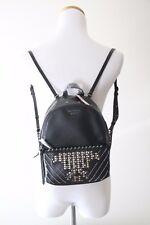 Cute Victoria's Secret Glam Stud City Mini Small Black Backpack
