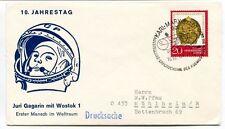 1971 Jahrestag Juri Gagarin Wostok 1 Ester Mensch Weltraum Drucksache SPACE NASA