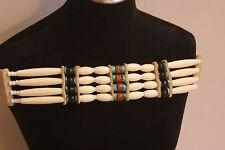 Handmade Choker Necklace Southwest Native Biker Boho Statement country