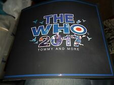 THE WHO 2017 TOUR PROGRAMME TOMMY AND MORE.NEW MINT