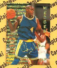 Chris Webber Nitro Elite Gold Foil - RARE Limited Edition Basketball Rookie Card