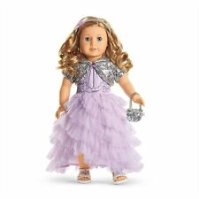 American Girl Frosted Violet Gown Store Exclusive New in Holiday Box