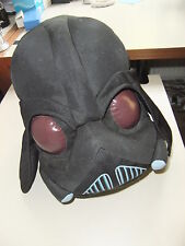 """STAR WARS RARE @14"""" DARTH VADER HELMET PLUSH FIGURE COLLECTOR TOY ANGRY BIRDS"""