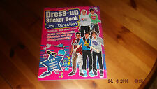 DRESS UP STICKER BOOK - ONE DIRECTION