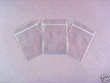 "500 Ziplock Resealable Grip Seal Zipper Bags 2.3"" x 3""_60 x 80mm"