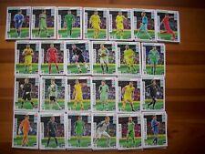 ROAD EURO 2020 SET 306 CARDS (FULL SET 225 TEAM MATE,45 FANS,18 RISING,18 UNL)