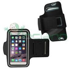 Armband fascia braccio Sport per iPhone 6 6S NERO custodia fitness touch screen