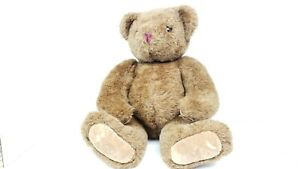 """The Vermont Teddy Bear Company 20"""" Jointed Soft Fur Brown"""