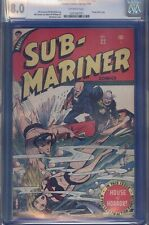 SUB-MARINER COMICS #22 CGC 8.0 Blue label Universal Spring,1947 TIMELY COMICS