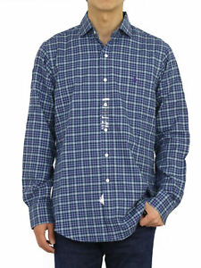 Polo Ralph Lauren LS Long Sleeve Classic Fit Spread Button Down Shirt - Check