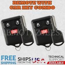 2 Remote for 2004 2005 2006 2007 2008 2009 2010 Ford F150 F250 F350 Car Key
