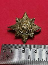 Irish Guards Brass Collar Badge