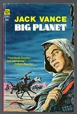 Big Planet Jack Vance Pb 1st/1st 1957 ACE G-661 SF Science Fiction Emsh Art