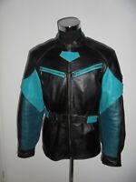 HEIN GERICKE Motorradjacke Bikerjacke Leder vintage motorcycle jacket XXL (L)
