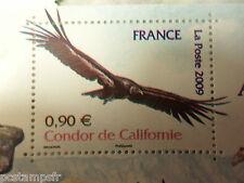 FRANCE 2009, timbre 4375, OISEAU CONDOR, neuf**, MNH STAMP WILD ANIMALS BIRD