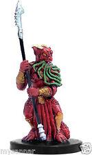 D&D mini VICIOUS BEARDED DEVIL Demonweb #9 Dungeons & Dragons Miniature Rare nc