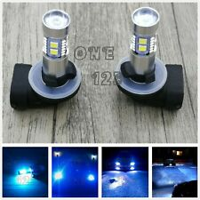 Super Bright 881 889 8000K ICE BLUE 55W CREE LED Fog Light Conversion Bulbs Kit