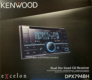 NEW Kenwood DPX794BH 2-DIN AM/FM/CD Car Audio Receiver, Bluetooth, HD Radio