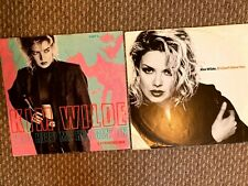 """Kim Wilde- if i can`t have you + you keep me hangin` on   X2 12"""" Vinyl Singles"""