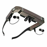 """80"""" Smart 3D VR Virtual Video Glasses Android 4.4 WiFi Bluetooth+5MP HD Camera"""