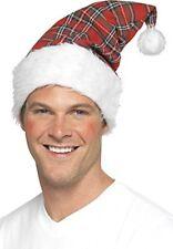 Tartan Santa Hat (gorro/ sombrero)
