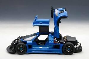1:18 AUTOART signature series GUMPERT APOLLO S (BLUE) Brand new in box!! insured