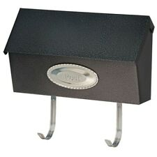 "15"" Black Granite Swedish Wallmount Mailbox"