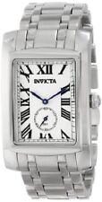 Mens Invicta 14697 Cuadro Silver Dial 48mm Sub Dial Classic Dress Watch