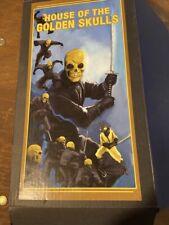 Mezco One:12 House of The Golden Skulls: Gold Skull Ninja Figure