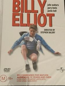 Billy Elliot Julie Walters Gary Lewis Jamie Bell DVD Brand New