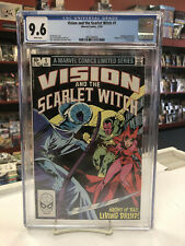 VISION and the SCARLET WITCH V1 #1 (Comics, 1982) CGC 9.6 ~ White Pages