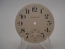 Hamilton 18S Metal Pocket Watch Dial