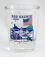 BAR HARBOR MAINE GREAT AMERICAN CITIES COLLECTION SHOT GLASS SHOTGLASS
