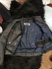 Genuine Triumph Motorcycles Leather Ride Jacket bomber 2L unworn men/women