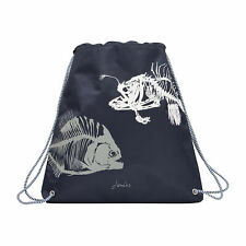 Joules Active Kids Bag Gym - Navy Fish One Size