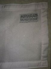 Airwrap Mesh Two-Sided Baby Cot Bumper White Breathable
