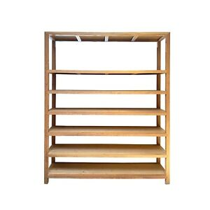 Huge Heavy Chinese Huali Wood Display Cabinet Bookcase Divider cs6972