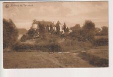 Oude Postkaart CPA Nels Sepia Château de Tarcienne Walcourt