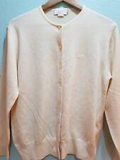 Nina Ricci knit wear Paris; cardigan, 100% pure new wool sweater size L; vintage