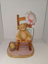 Cherished Teddies Celia You Can Always Call My - Figurine # 295264 2001 Enesco