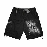 REAPER  - Vintage Cargo Shorts Black