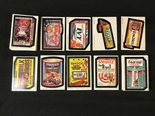 1980 Topps Wacky Packages Complete 3rd Series 3 66 Sticker Card Set
