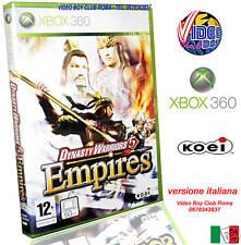 DYNASTY WARRIORS 5 EMPIRES @@ @ XBOX 360 NUOVO ITALIANO