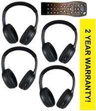 NEW 4 HEADPHONES & 1 DVD REMOTE 2002 2003 2004 2005 2006 Yukon XL Denali
