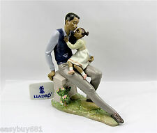 LLADRO 01006202  DADDY'S LITTLE SWEETHEART Brand New Boxed Authentic RARE!
