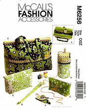 McCall's Pattern M6256 Knitting Sewing Organizers Tote Bag Case Yarn holder 6256