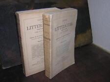 1890.tableau de la littérature au Moyen age / Villemain.2/2