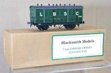 BLACKSMITH MODELS O GAUGE KIT BUILT BRASS LBSC VENTILATED LUGGAGE VAN WAGON my
