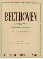 Beethoven: Sonata Für Violine E Klavier N.1 Op.12 - Curci